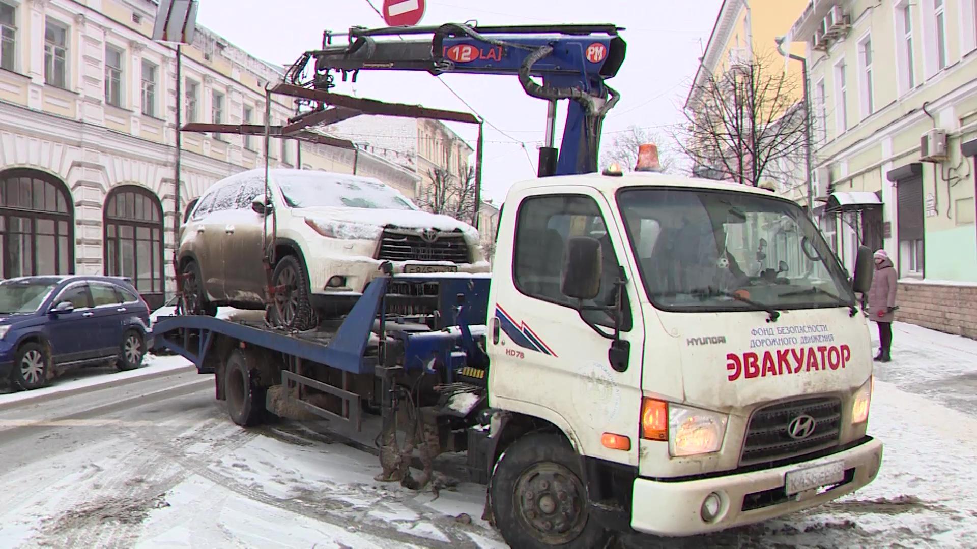 В Ярославле прошел рейд по «гениям парковки»