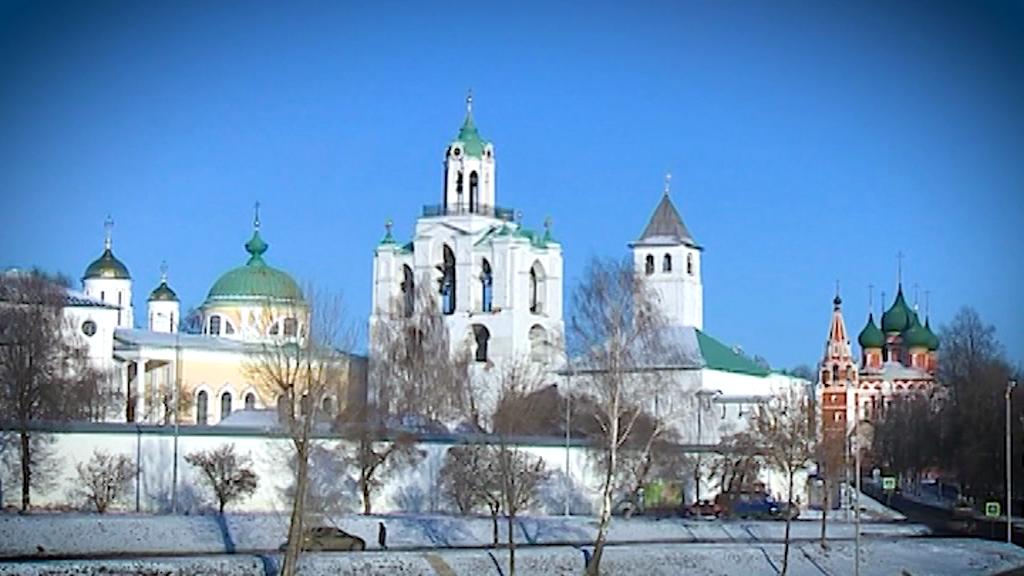 К Новому году стену Ярославского музея-заповедника хотят украсить большой праздничной проекцией