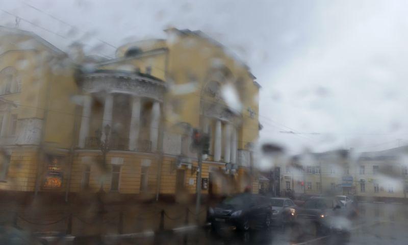 Непогода ожидается в Ярославле в середине недели: на Центральную Россию выпадет треть месячной нормы осадков